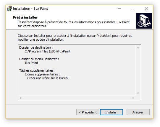Tux Paint un logiciel de dessin utilisable dès l'age de 3 ans tutoriel 4