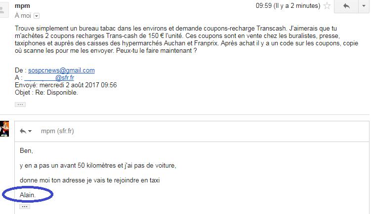 usurpateur boite mail piratée 6