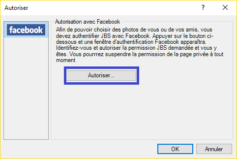 John's Background Switcher : personnalisez le fond d'écran de votre ordinateur. Exemple Facebook 2