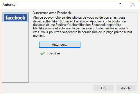 John's Background Switcher : personnalisez le fond d'écran de votre ordinateur. Exemple Facebook 4