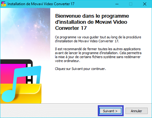 Movavi Video Converter 17 :installation 3