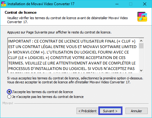 Movavi Video Converter 17 :installation 4