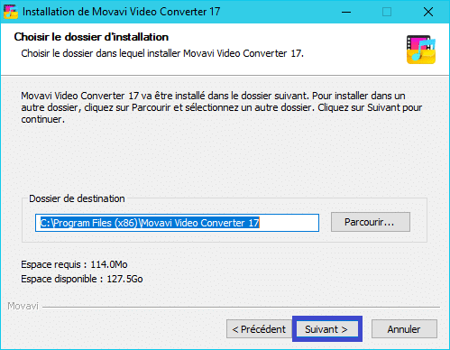 Movavi Video Converter 17 :installation 5