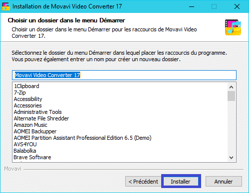 Movavi Video Converter 17 :installation 6