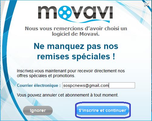 Movavi Video Converter newsletter
