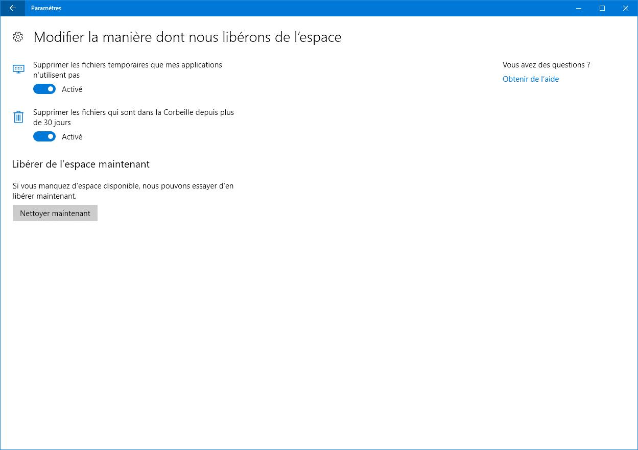 Nettoyeret entretenir Windows sospc.name tutoriel