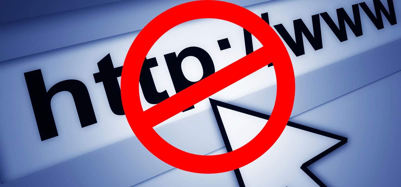 URL Blocker : Bloquer facilement l'accès à un ou plusieurs Sites Web.