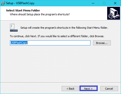 USBFlashCopy : tutoriel installation 4