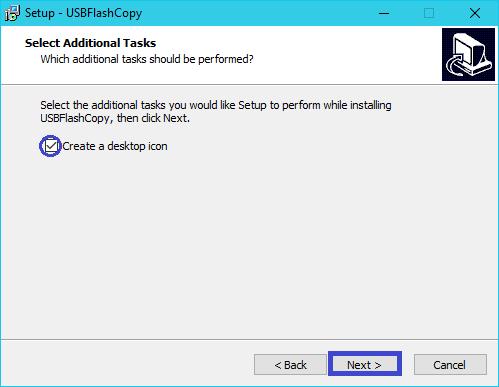 USBFlashCopy : tutoriel installation 5