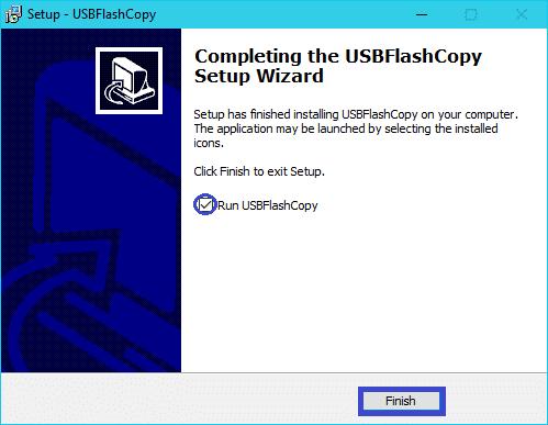 USBFlashCopy : tutoriel installation 7