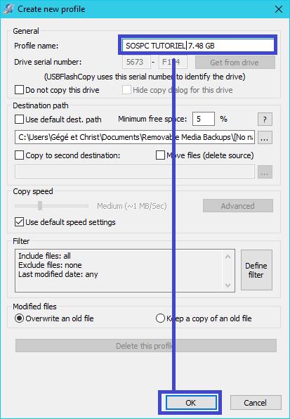 USBFlashCopy : tutoriel utilisation sospc.name 3