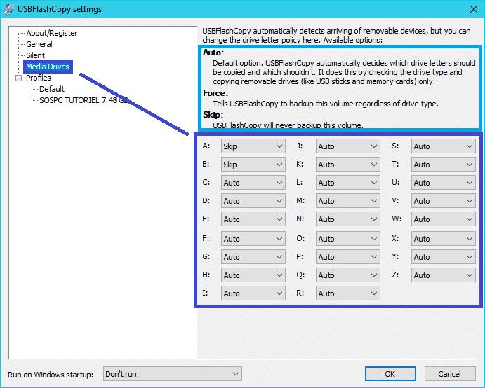 USBFlashCopy : sauvegardez clés périphériques disques USB. tutoriel 3
