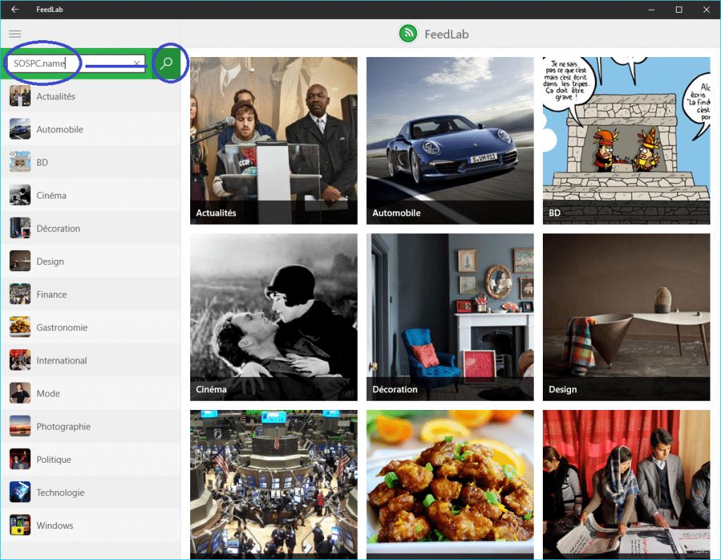 FeedLab, un lecteur de flux RSS tutoriel 8