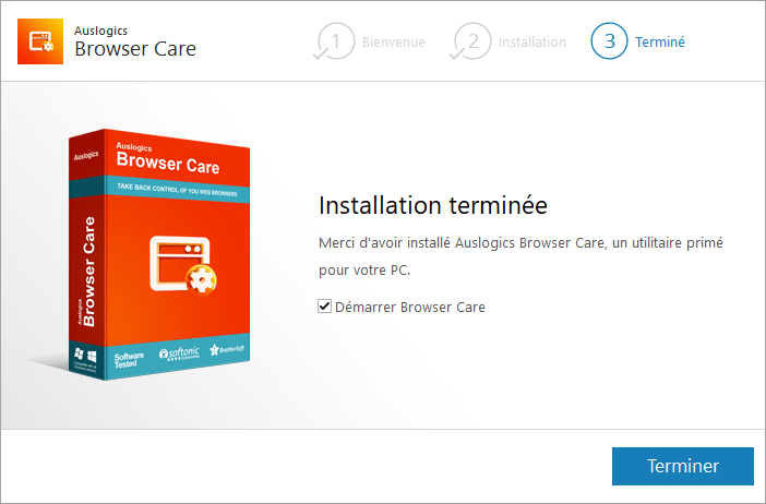 Auslogics Browser Care 4 installation 4