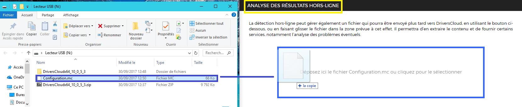 DriversCloud v2 : détection hors ligne analyse 1