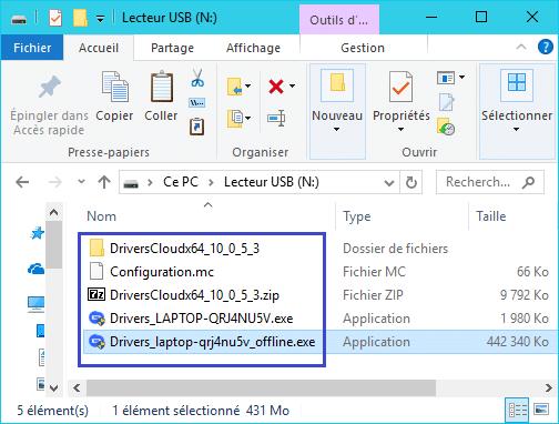 DriversCloud v2 : détection hors ligne analyse 10