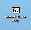 Immersive Explorer installation tutoriel 2