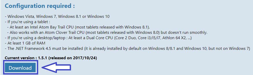 Immersive Explorer alternative à l'explorateur de Windows.
