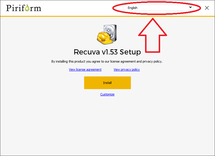 RECUVA TUTORIEL INSTALLATION 1