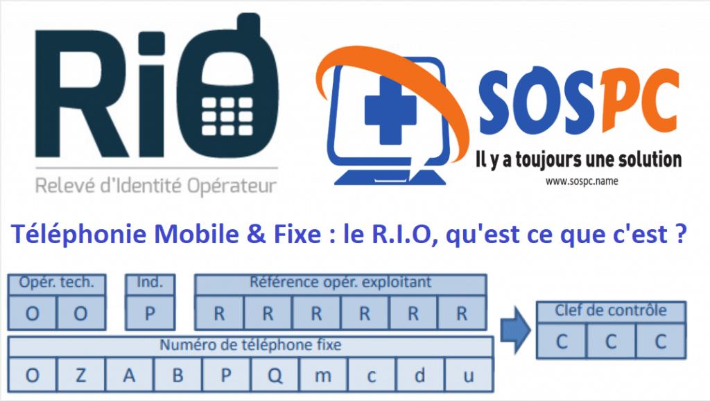 Téléphonie Mobile & Fixe : le R.I.O, qu'est ce que c'est ?