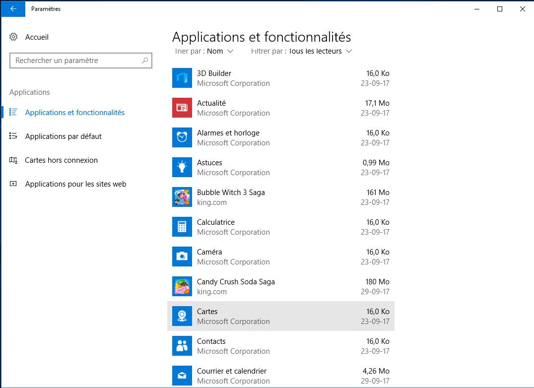 Tout savoir sur Windows 10, partie 2 : désinstaller applications