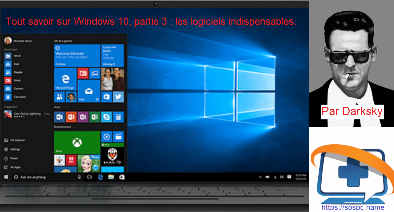 Tout savoir sur Windows 10, partie 3