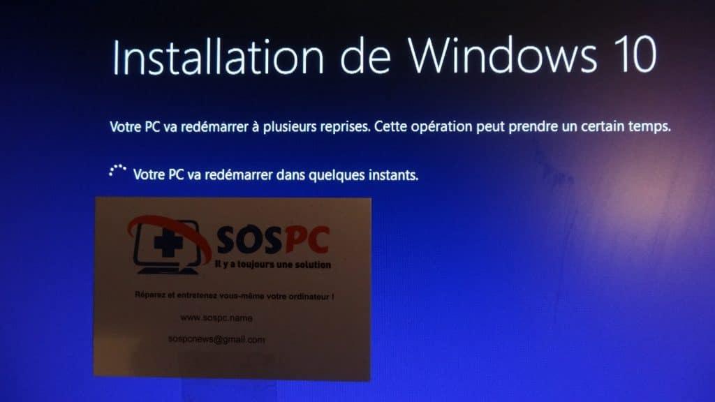 installation windows 10 tutoriel capture 14