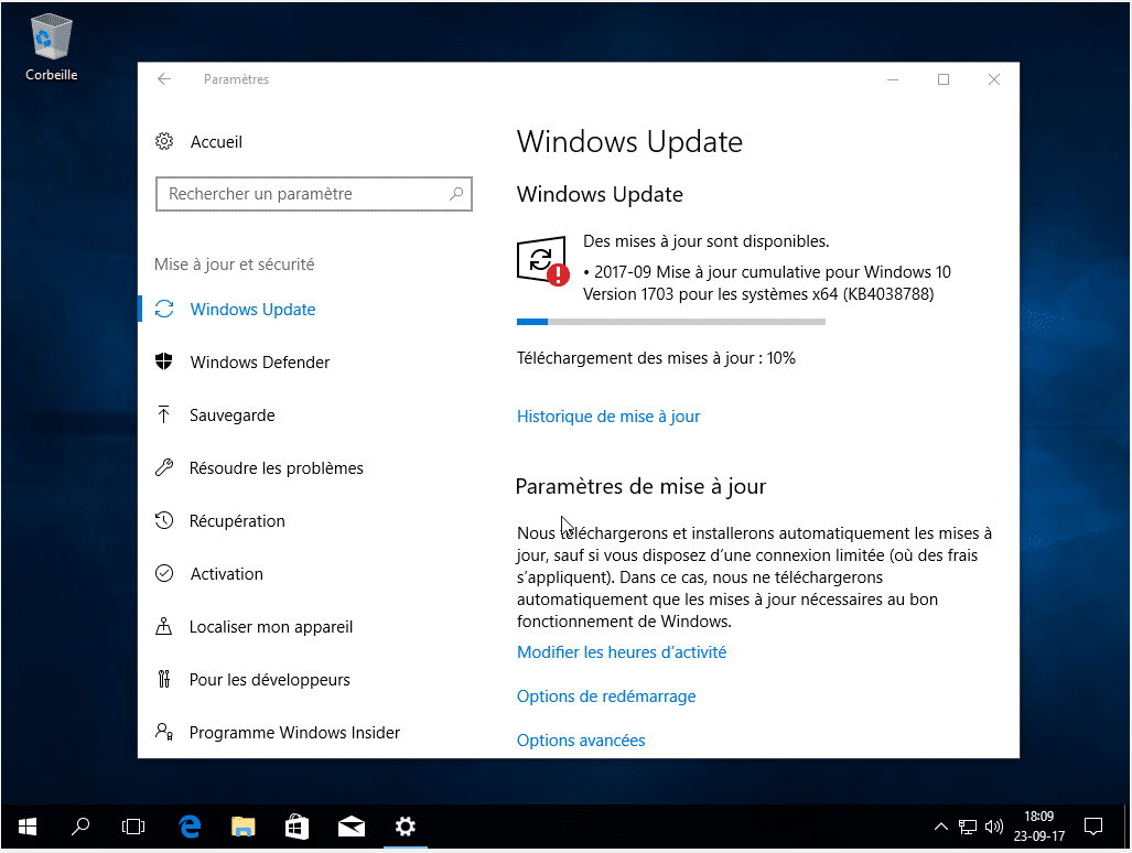 Windows 10, partie 1 : l'installation capture 8