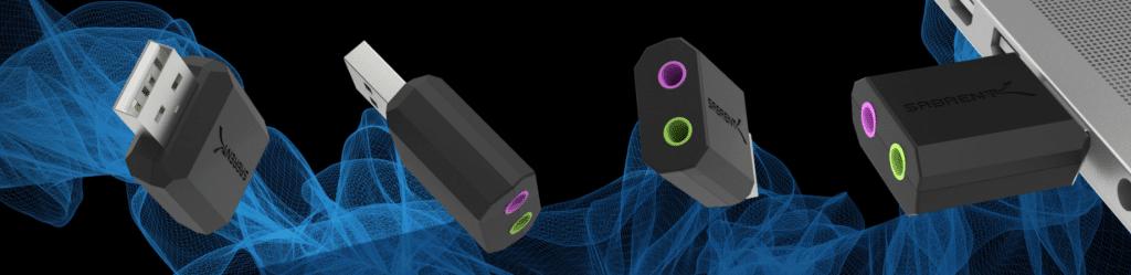 adaptateur USB Sortie Son