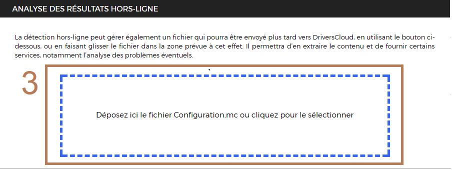 DriversCloud v2 : détection hors ligne 8