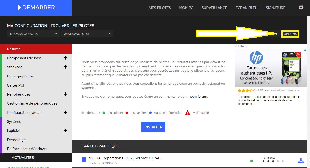 DriversCloud v2 : mettre à jour ses pilotes est encore plus simple et pratique désormais sospc.name 7