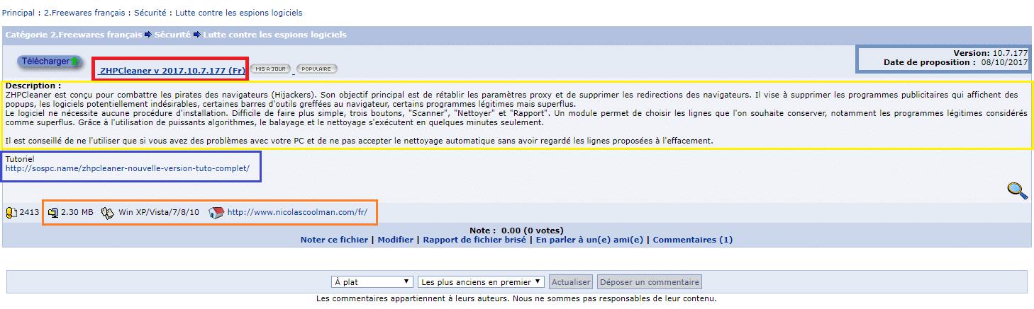 gratilog.net fiche logiciel