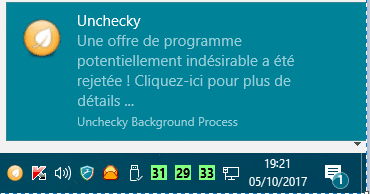 Unchecky 1.1 : installation test 2