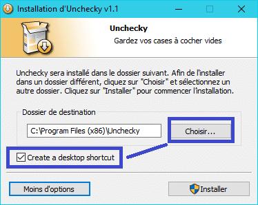 Unchecky 1.1 : empêcher l'installation des barres publicitaires tutoriel 3