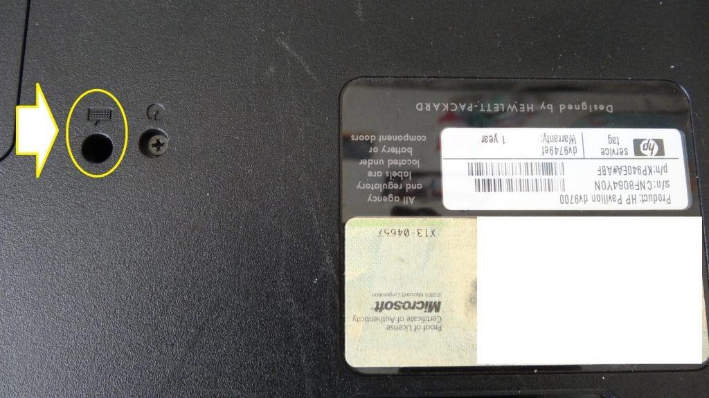 Changement d'un clavier ordinateur portable HP tutoriel 3