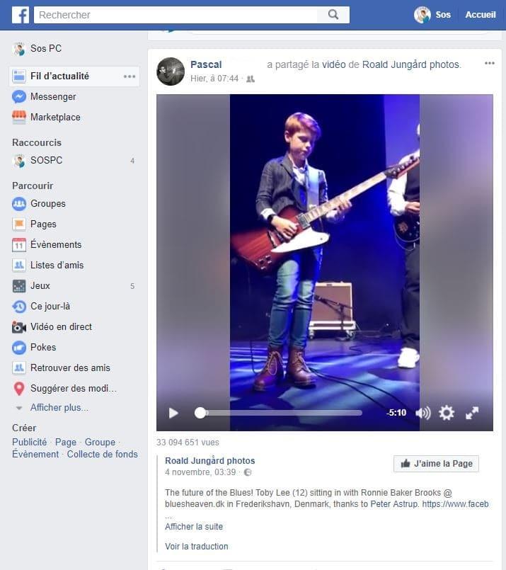 Télécharger vidéo Facebook Tutoriel sospc.name 1