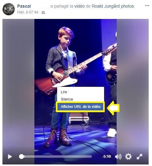 Télécharger vidéo Facebook Tutoriel sospc.name 2