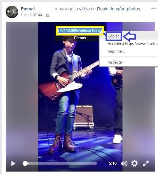 Télécharger vidéo Facebook Tutoriel sospc.name 3