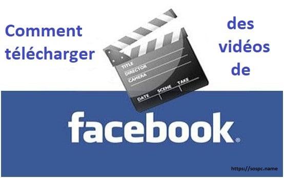 Comment télécharger une vidéo diffusée sur Facebook.