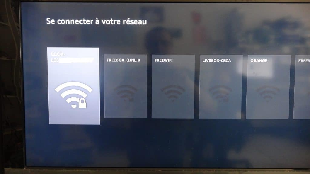 Fire TV Stick d'Amazon tutoriel installation 2