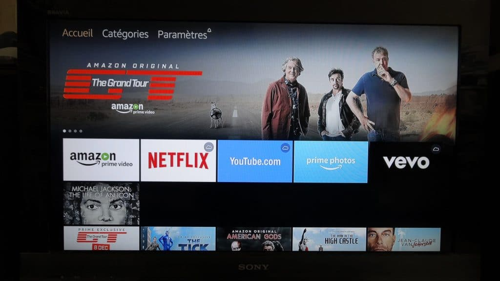 Fire TV Stick d'Amazon tutoriel installation 13