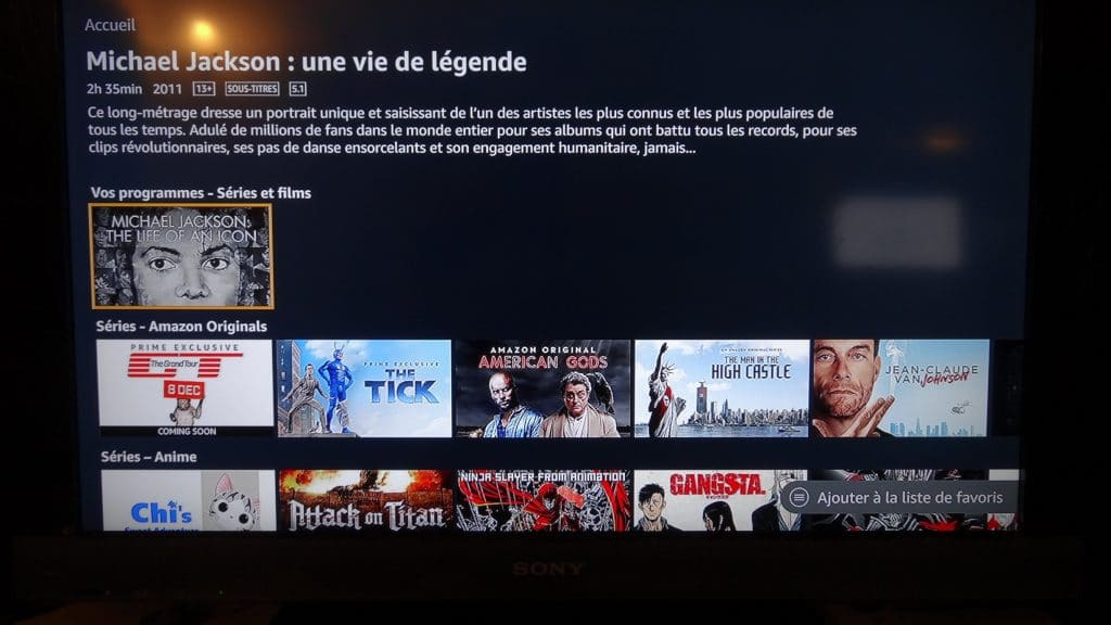 Fire TV Stick d'Amazon tutoriel installation 15