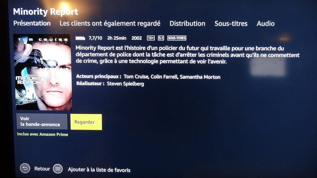 Fire TV Stick d'Amazon tutoriel installation 17