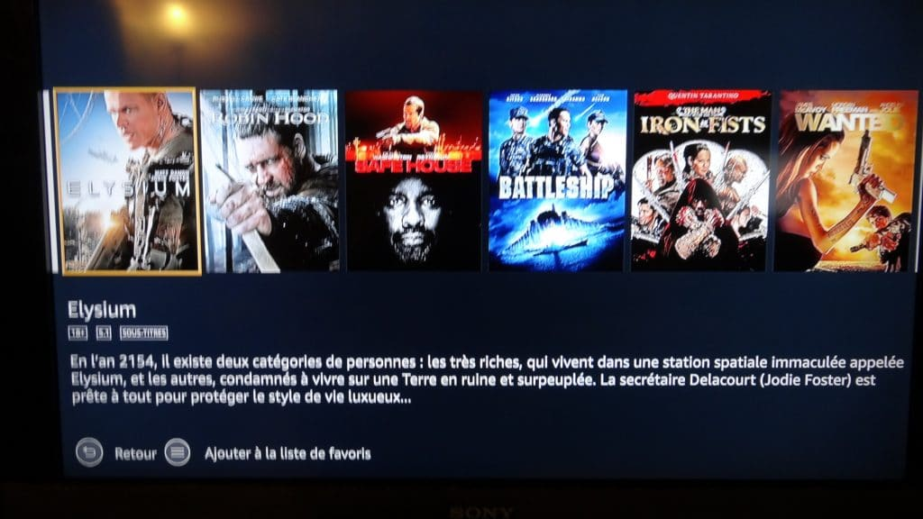 Fire TV Stick d'Amazon tutoriel installation 18
