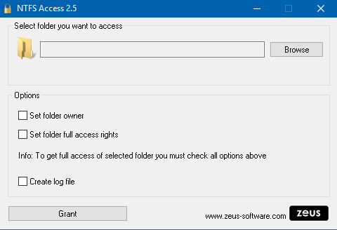 NTFS Access tutoriel 1