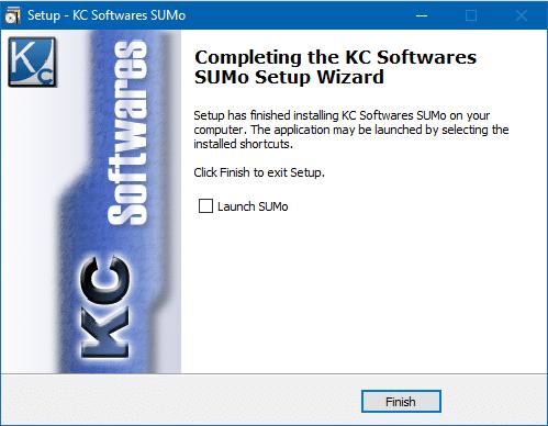 SUMO: mettez facilement à jour vos logiciels, Tutoriel capture 8
