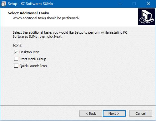 SUMO: mettez facilement à jour vos logiciels, Tutoriel capture 5