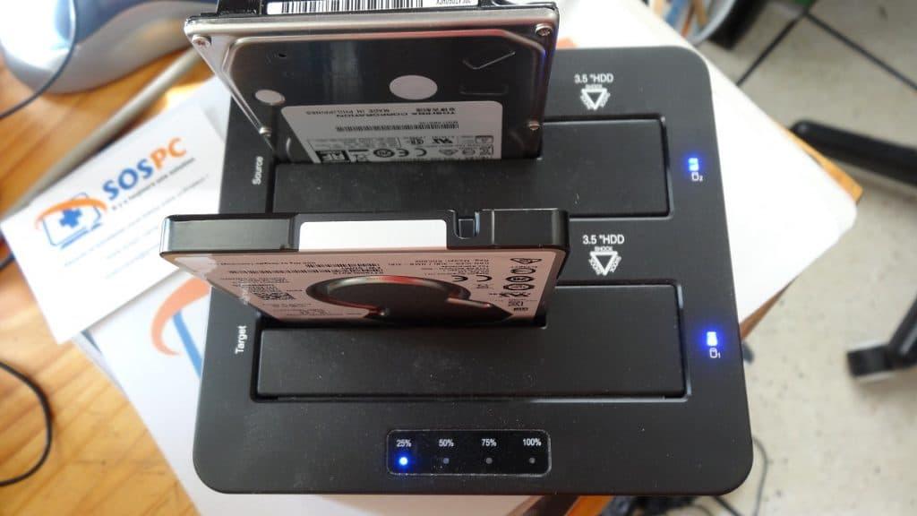 Disque Dur Hybride FireCuda Seagate Installation 4