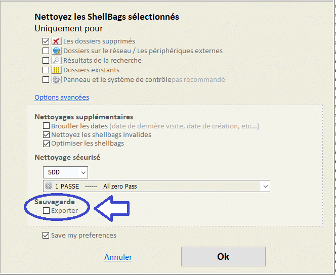 Shellbag Analyzer & Cleaner tutoriel sospc.name capture 2