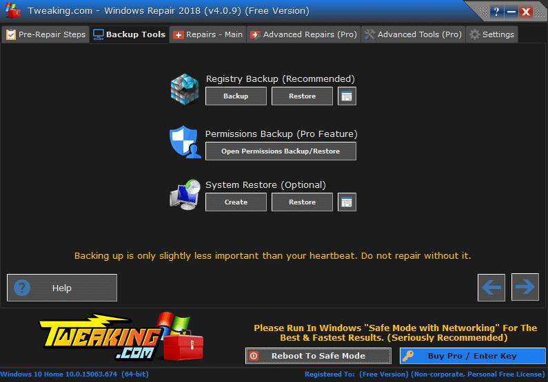 Windows Repair Free tutoriel sospc.name 12